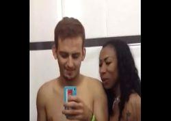 Inês brasil transando com Diego