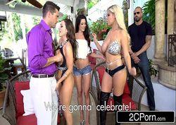 Pornoo orgia na nova casa