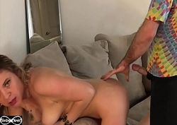 Cabine do sexo com cunhada loira puta