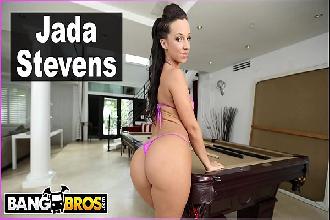 Gostosa Jada Stevens metendo com careca da piroca grande e gostosa